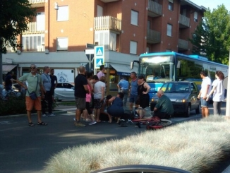 Rallentamenti in corso Europa ad Alba a causa di un incidente
