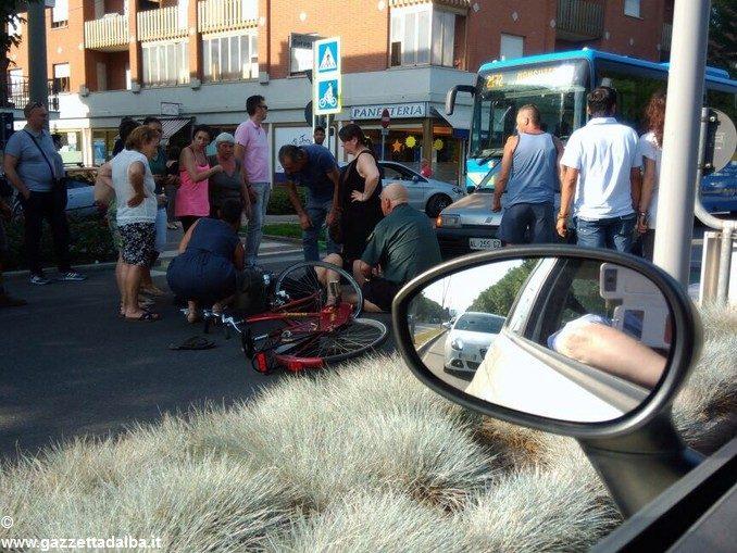 Rallentamenti in corso Europa ad Alba a causa di un incidente 1