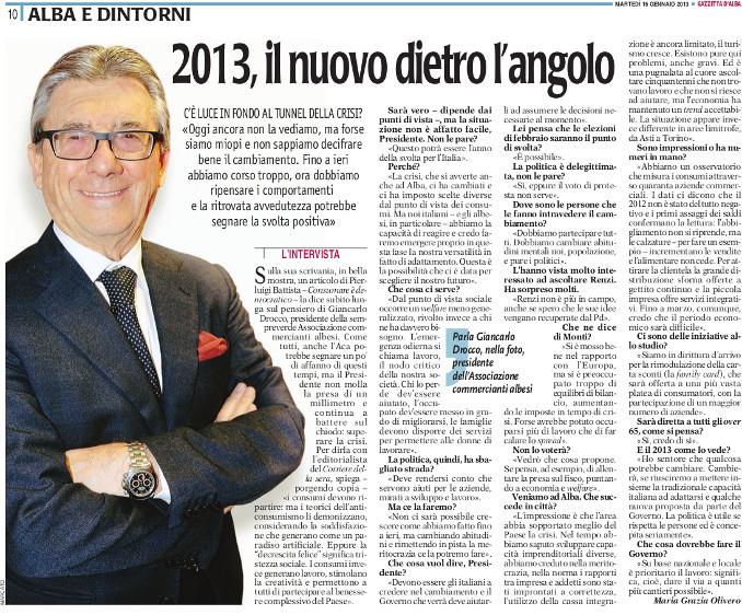 intervista drocco 15-01-2013