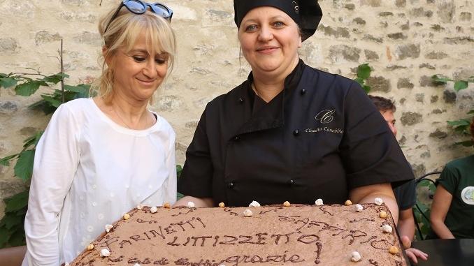 Cortemilia: Luciana Littizzetto è stata nominata ambasciatrice della nocciola nel Mondo 1