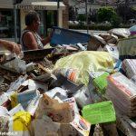 Bomba d'acqua lungo il Tanaro: ecco tutti i danni