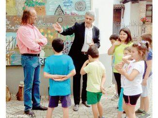 Scene di vita nel borgo dipinte dagli alunni