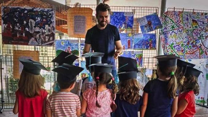 Paolo Tibaldi: una lettera per dire grazie ai suoi piccoli attori delle scuole dell'infanzia