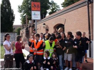 Con Pedibus la scuola primaria di Pollenzo è stata la più virtuosa