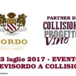 """Cantina Sordo e il Festival di Barolo danno vita a """"#BeviSordo a Collisioni"""""""