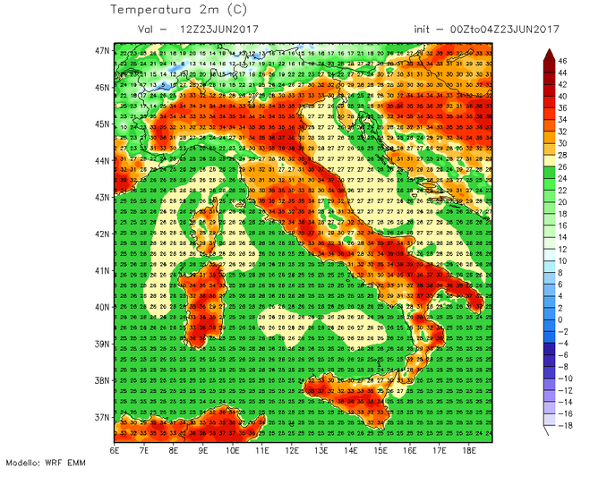Meteo: caldo e afa nel week-end poi gradualmente le temperature caleranno