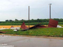 Ceresole: raffiche di vento e grandine causano ingenti danni a colture e abitazioni 12