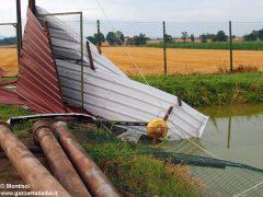 Ceresole: raffiche di vento e grandine causano ingenti danni a colture e abitazioni 16