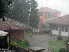Ceresole: raffiche di vento e grandine causano ingenti danni a colture e abitazioni 1