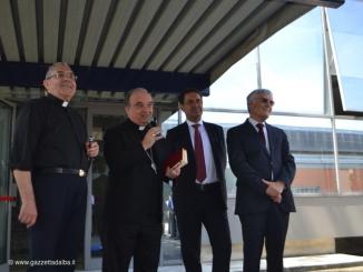 Il Vescovo Monsignor Marco Brunetti ha visitato la sede di Egea