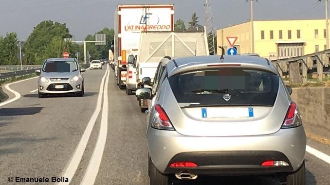 """Chiusura Sp7, Emanuele Bolla: """"Traffico impazzito e code chilometriche, servono interventi"""" 1"""