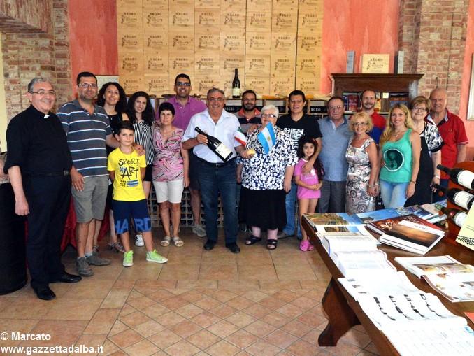 Famiglia Negro con argentini 3