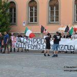 Forza Nuova protesta in piazza Garibaldi contro il Piemonte Pride