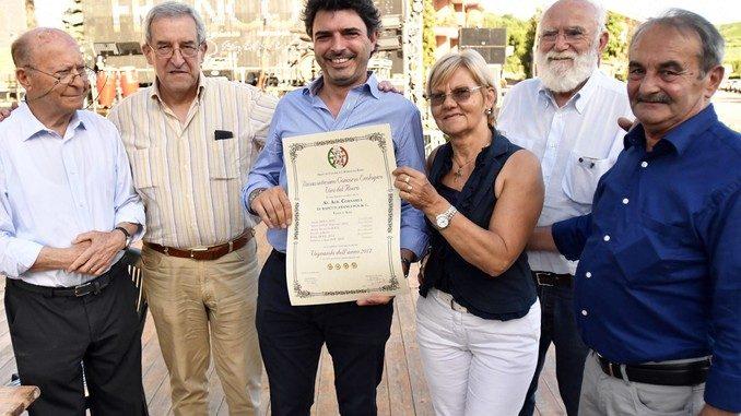 Le quattro ruote d'oro all'azienda vinicola Cornarea