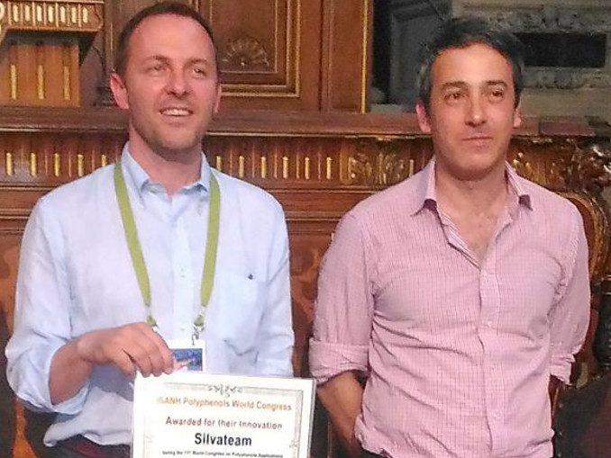 A Silvateam il premio per l'innovazione al Congresso internazionale sui polifenoli