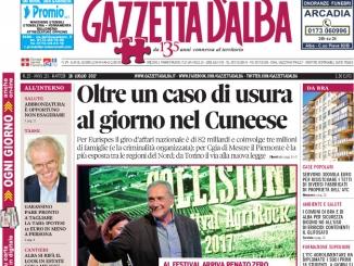 La copertina di Gazzetta di martedì 18 luglio