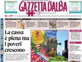 La copertina di Gazzetta di martedì 25 luglio