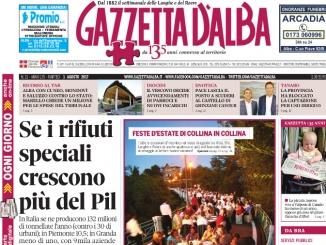 La copertina di Gazzetta di martedì  1° agosto