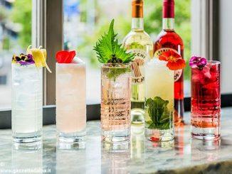 Cocktail dedicato alla stazione di Asti in un bar di Londra