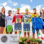 Massimo Rosa in maglia a pois al Giro della Valle d'Aosta!