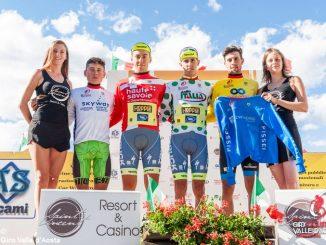 Massimo Rosa in maglia a pois al Giro della Valle d'Aosta! 1