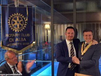 Rotary: Francesco Caffa sale in carica per il nuovo anno del club albese