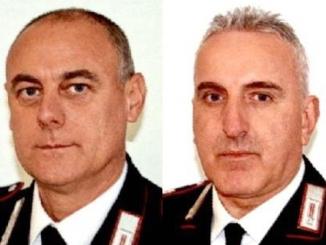 Il plauso dei colleghi per i due Carabinieri di Bra andati in pensione