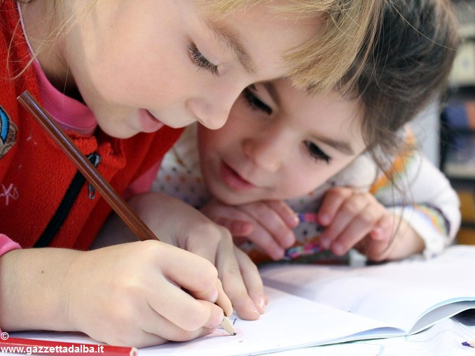 bambini compiti