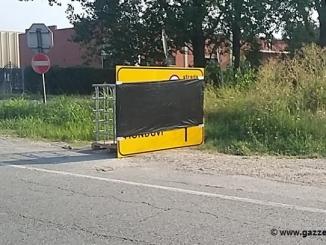 Posizionati i cartelli, si avvicina la chiusura della provinciale 7 tra Roddi e Verduno