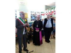 Il vescovo Marco Brunetti alla casa di riposo Divina Misericordia 16