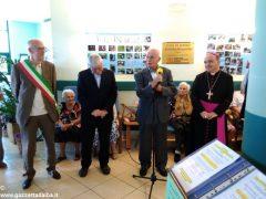 Il vescovo Marco Brunetti alla casa di riposo Divina Misericordia 18