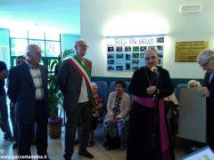 Il vescovo Marco Brunetti alla casa di riposo Divina Misericordia 4
