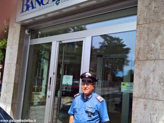 Furto nella filiale della Banca d'Alba alla Moretta