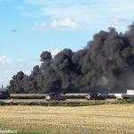 Incendio a Cherasco: danneggiato il tetto dell'agriturismo, feriti i titolari
