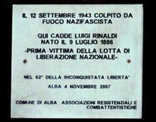 Ricordare la tragedia dell'8 settembre e quanto successe ad Alba 1
