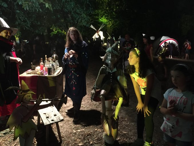 Nel bosco  fatato di Montaldo Roero con gnomi, maghi e folletti 8