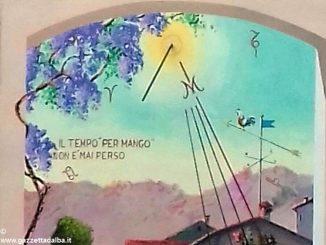 Pitture murali e meridiane abbelliscono le strade di Mango 1