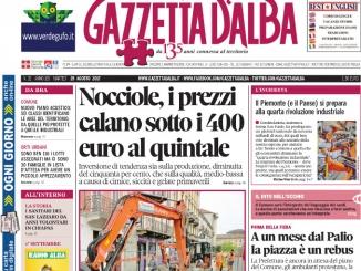 La copertina di Gazzetta di martedì 29 agosto