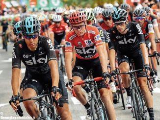 Alla Vuelta Froome cade, ma conserva il primato. Diego Rosa settantottesimo 1