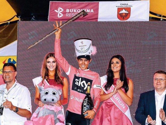 Alla Vuelta Diego Rosa in evidenza al fianco di Chris Froome 1