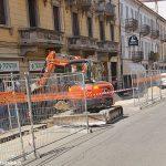 In corso Italia i lavori finiranno entro il mese di novembre