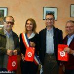 Una delegazione di Bra a Saint-Pons per la Fete de la moisson
