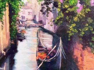"""""""Frammenti di luce"""",  la mostra di pittura di Cecilia Grasso a Cherasco"""