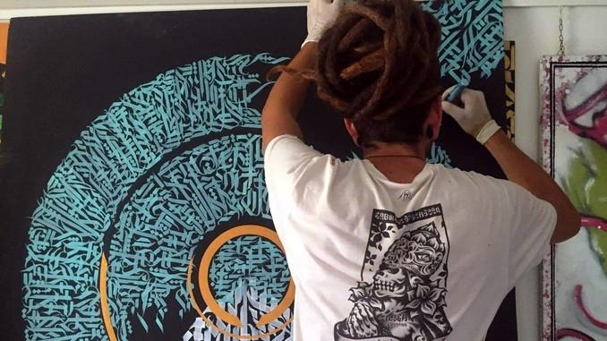 Signs, la calligrafia di Zebo in esposizione ad Alba