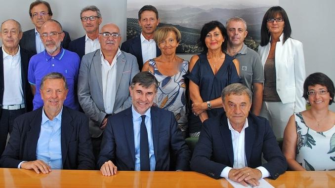 Il viceministro Andrea Olivero in visita alla sede dell'Aca