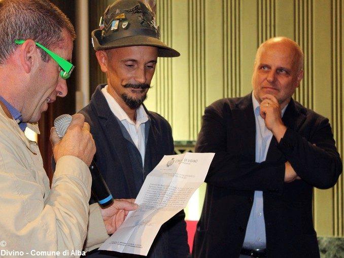 Gli alpini e il sindaco di Viganò sono stati ricevuti in municipio 1