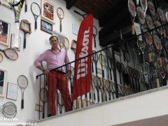 È nato a Baldissero il primo Museo della racchetta da tennis 2