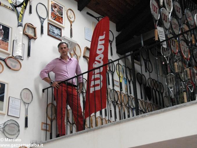 Baldissero Museo racchette Paolo Bertolino (3)