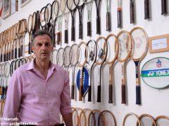 È nato a Baldissero il primo Museo della racchetta da tennis 3