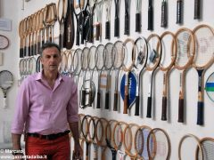 È nato a Baldissero il primo Museo della racchetta da tennis 4